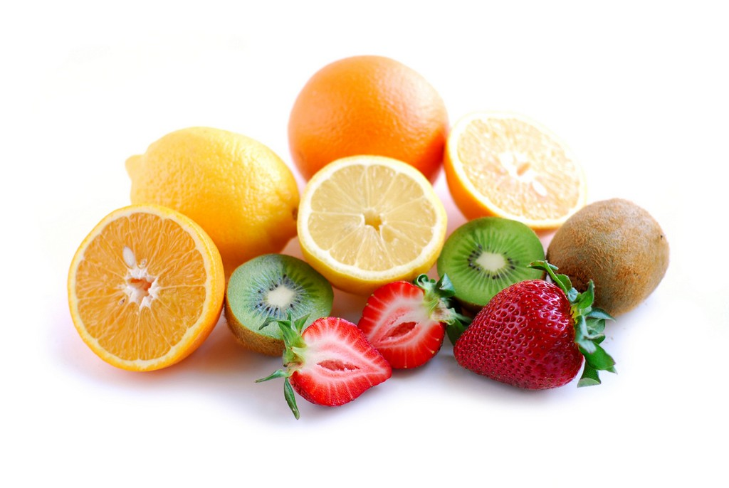 fresh assorted fruit